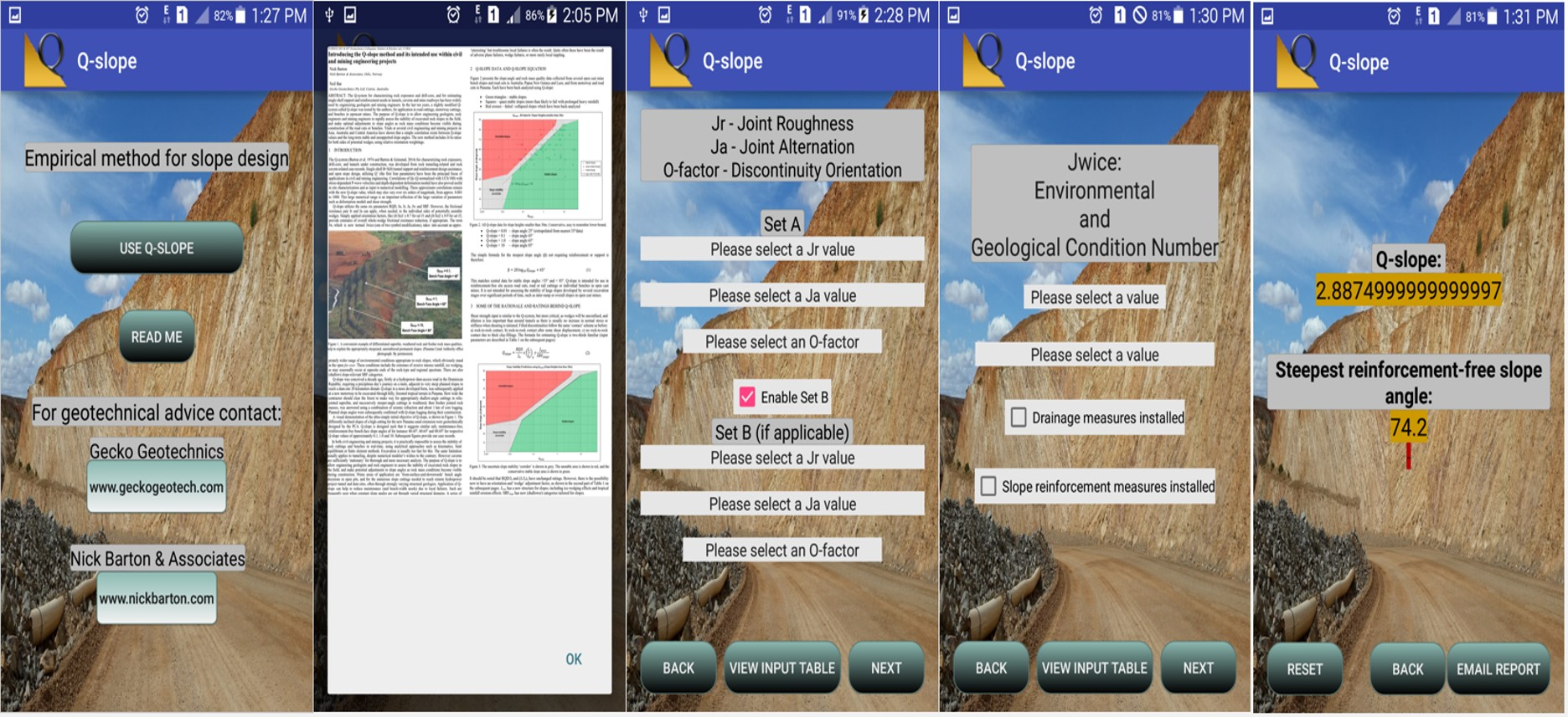 slope stability software free